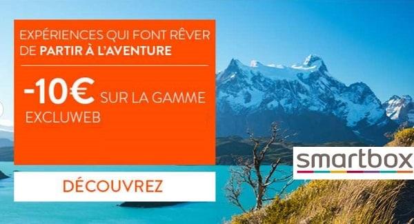 10€ De Remise Sur Les Coffret Smartbox Excluweb