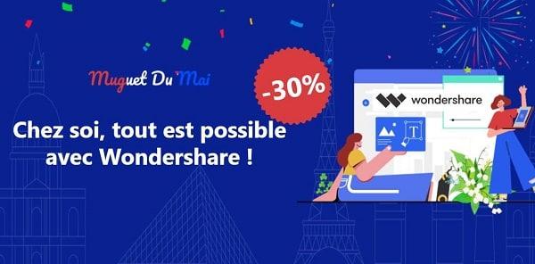 20% à 30% De Remise Sur Les Logiciels Wondershare