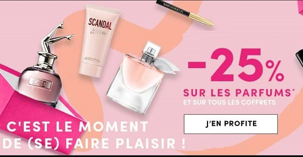 25% De Réduction Sur Tous Les Coffrets Parfums Sur Le Site Marionnaud