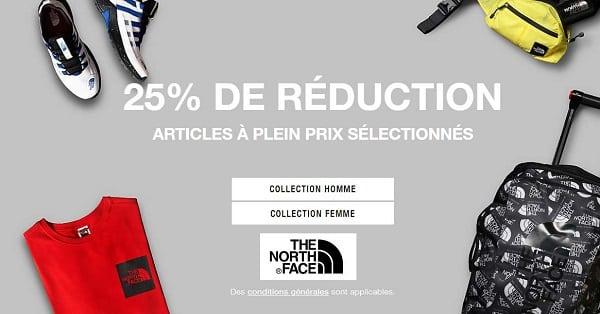 25% De Remise Sur Tout Le Site The North Face