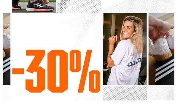 30 % Supplémentaires Sur Les Articles Adidas Déjà En Promotion