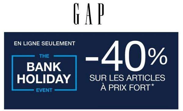40% De Remise Sur Tout Le Site Gap