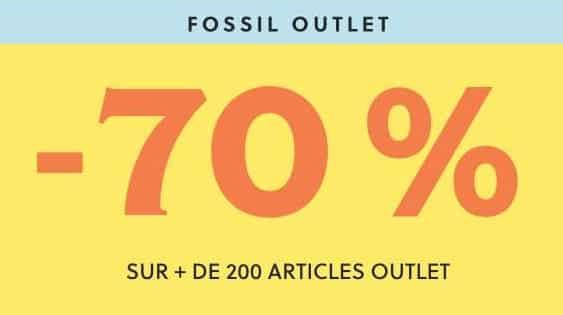 70% De Remise 200 Articles Outlet Fossil