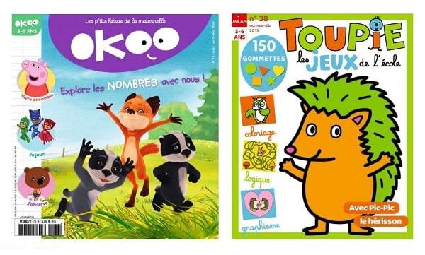 Abonnement Okoo Et Toupie Les Jeux De L'école Magazines Pas Cher
