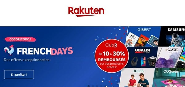French Days Rakuten