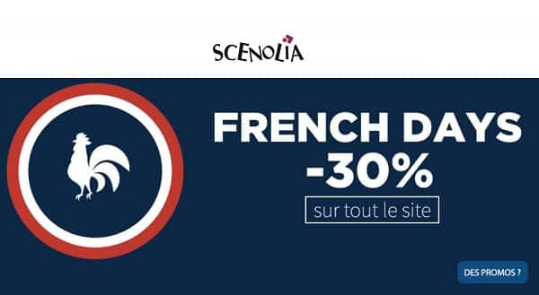 French Days Scenolia