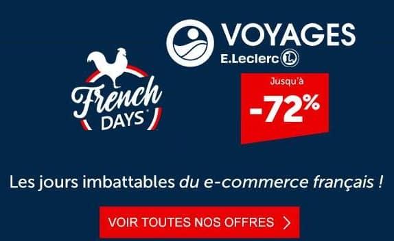 Les French Days De Leclerc Voyages