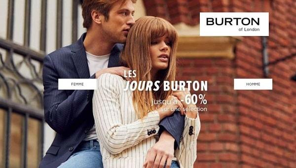Les Jours Burton Jusqu'à 60%