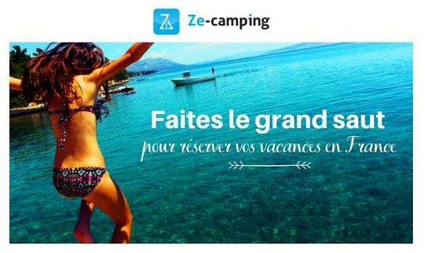 Offre 100% Tranquillité Camping Ze Camping Cet été