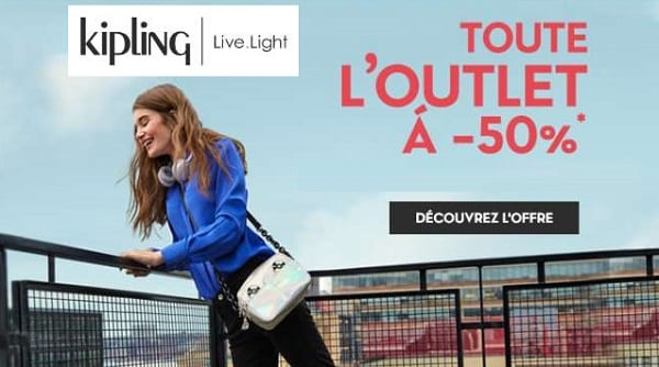 Vente Outlet Kipling 50% De Réduction Sur Toute La Section Outlet