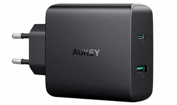 Chargeur Secteur Double Usb 56,5w Aukey Pa Y10