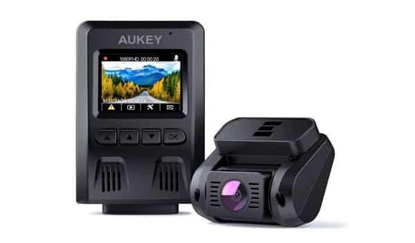 Double Caméra De Voiture Dashcam Avant Arrière Aukey Dr02 D