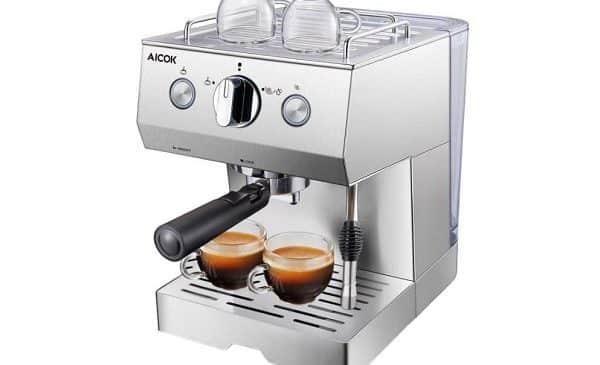 Machine à Café Expresso Professionnelle 20 Bars Aicok