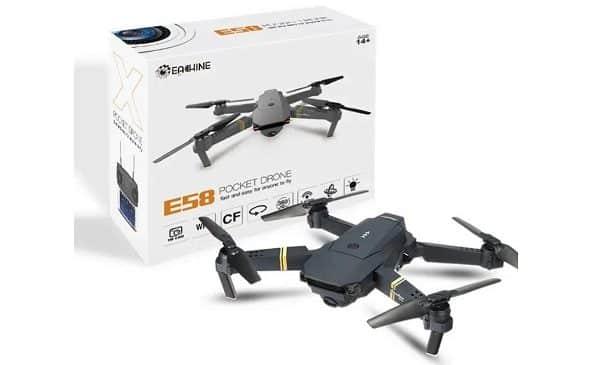 Mini Drone Camera Wi Fi Eachine E58
