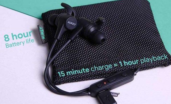écouteurs Sport Sans Fil Bluetooth Aukey Latitude Ep B40