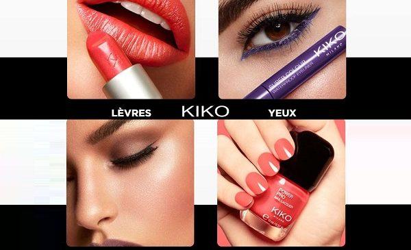 2 Produits Achetés = 1 Produit Offert Sur Tout Le Site Kiko Milano