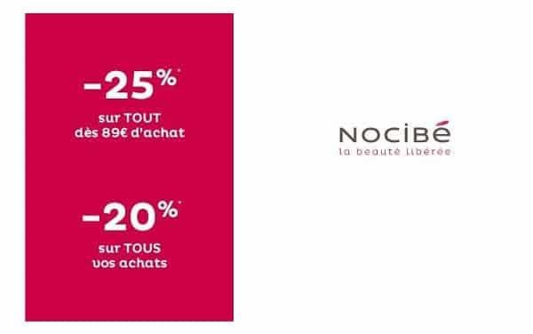 20% Remise Sur Tous Vos Achats Nocibé