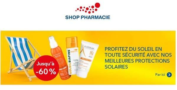 60% De Remise Sur Protections Solaires De Marque Sur Shop Pharmacie