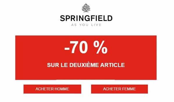 70 % De Remise Sur Le Deuxième Article Springfield