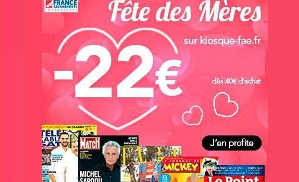 Bon plan cadeau fête de mères ❤️ abonnement magazine pas cher grâce à 22€ de remise