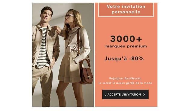 Code Invitation Pour Bestsecret La Communauté De Shopping Privée