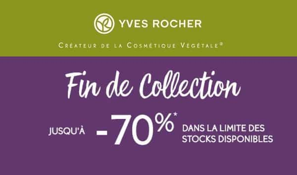 Déstockage De Fin De Collections Yves Rocher