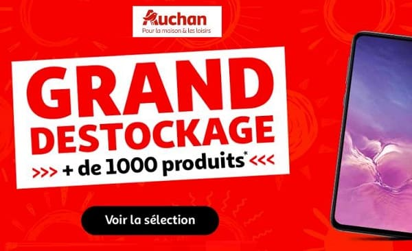 Grand Déstockage Auchan