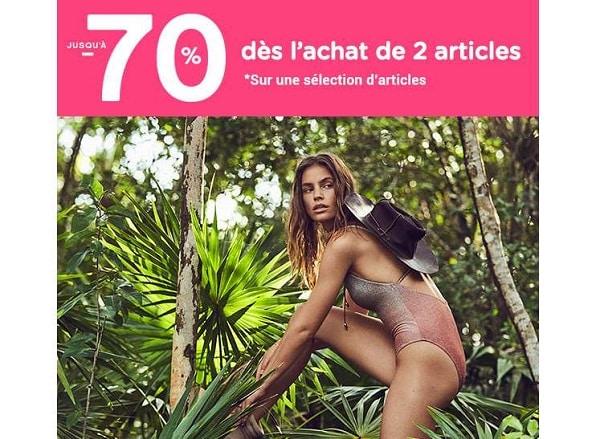 Jusqu'à 70 % Dès L'achat De 2 Articles Women'secret