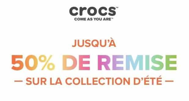 Jusqu'à 50% Sur La Collection été Crocs