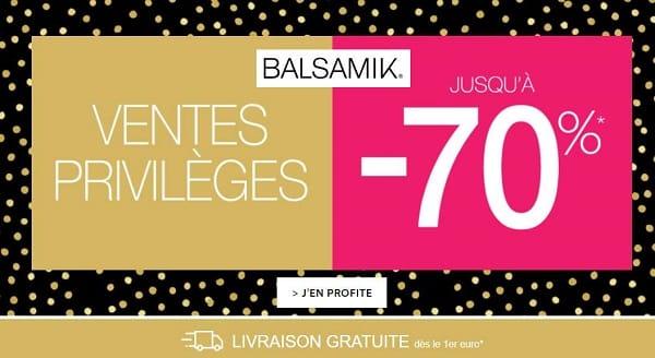 Les Ventes Privilèges Balsamik