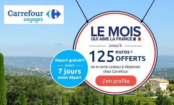 Location En France Cet été Avec Lagrange Vacances Jusqu'à 125 € En E Carte Carrefour Offert