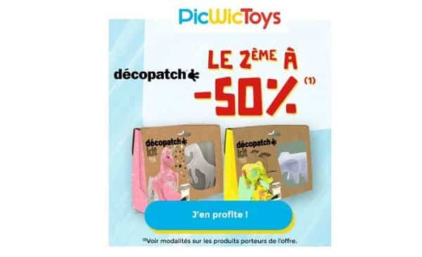 Offre Spéciale Décopatch Enfant 1 Kit Acheté = 50% Sur Le Second