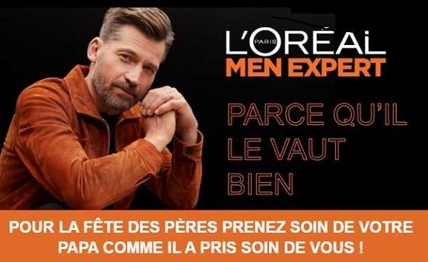 Opération Fête Des Pères L'oréal Paris