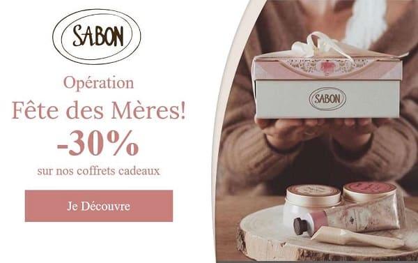 Opération Fête Des Mères Sabon 30% Sur Tous Les Coffrets Cadeaux