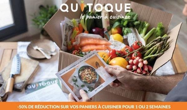 Panier à Cuisiner Quitoque à Moitié Prix