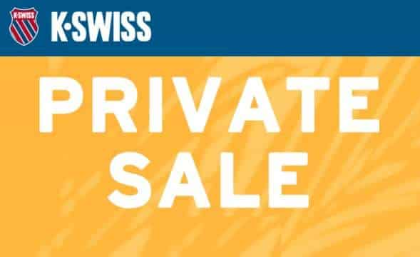 Vente Privée K Swiss