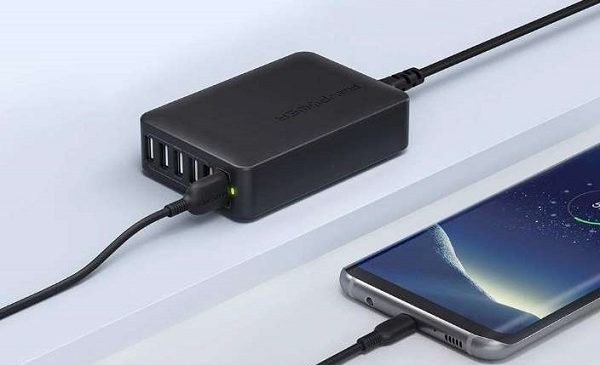 Chargeur Usb 60w 6 Ports (dont 1 Quick Charge 3.0 )ravpower Rp Pc029