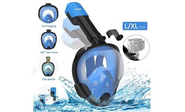 Masque De Plongée Integral Snorkeling Agm