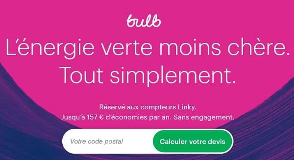 Bulb Le Fournisseur D'énergie Verte Moins Chère