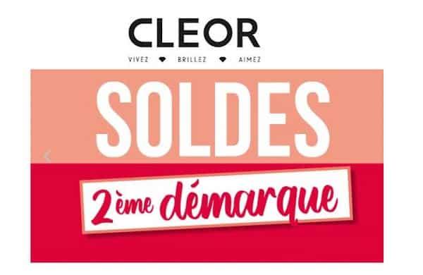 Deuxième Démarque Des Soldes Cleor Bijoux & Montres