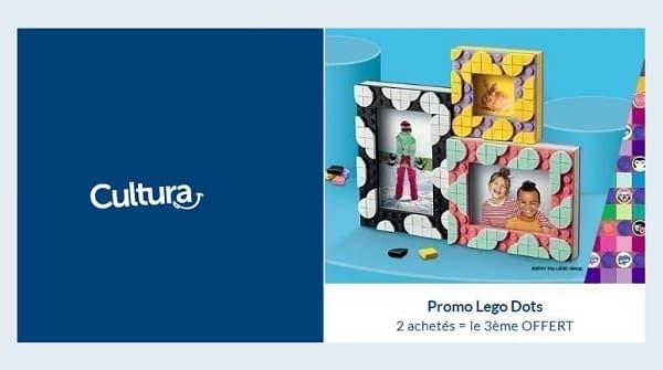 Offre Lego Dots Sur Cultura 2 Acheté = Le 3e Offert
