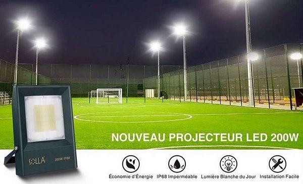 Offre Spéciale Projecteur Extérieur Led Pro étanche Ip68 De 50w à 200w Solla à Prix Réduits