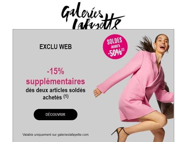 Premier Jour Des Soldes Galeries Lafayette