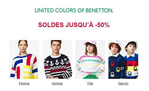 Soldes Benetton