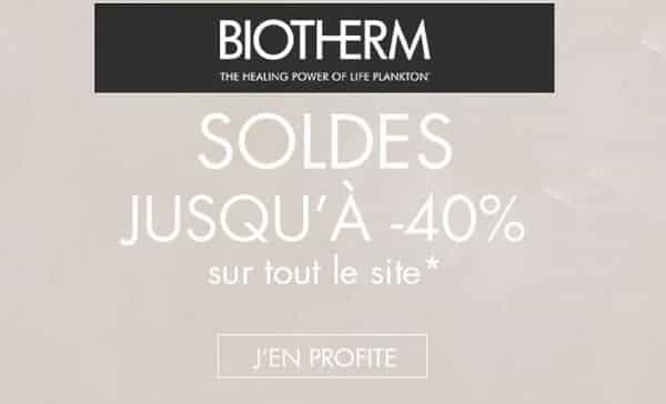Soldes Biotherm