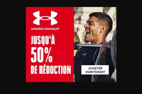 Soldes Et Promotions De Fin De Saison Under Armour