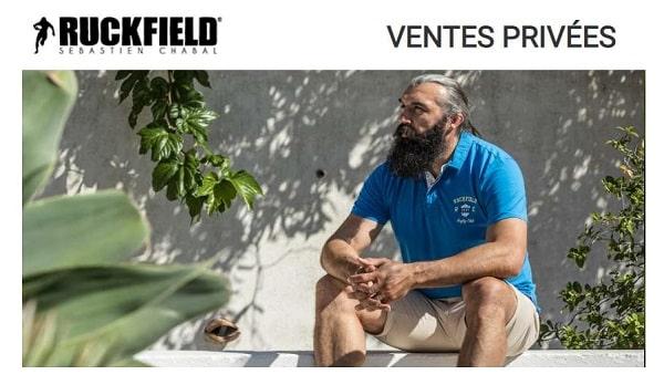 Vente Privée Ruckfield Sébastien Chabal De Pré Soldes
