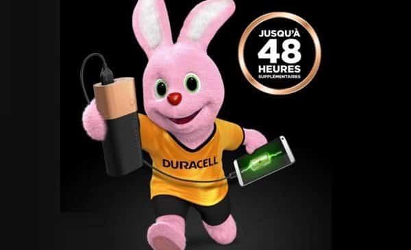 Batterie Externeduracell6700 Mah