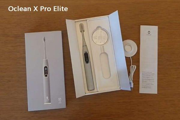 brosse à dents intelligente électrique Oclean X Pro Elite