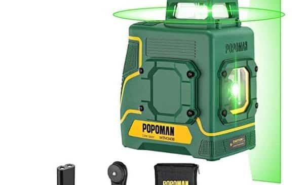 Niveau Laser Double Ligne 360° Popoman Mtm330b